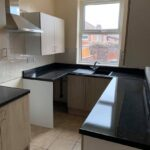 Refurbished kitchen in our 3 bedroom buy to let in Doncaster